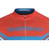 Shimano Print Koszulka kolarska, krótki rękaw Mężczyźni niebieski